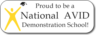 Proud to be a National AVID Demonstration School!